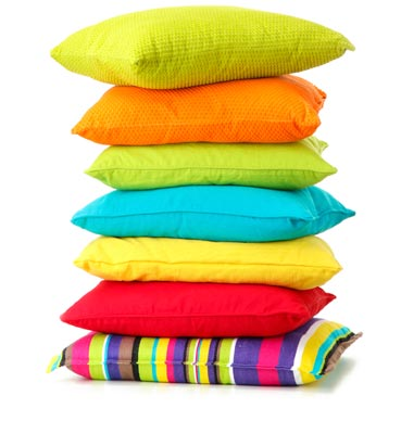 ColouredPillows