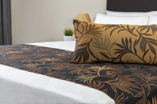 Barrington Batik Bed Runner & Rev Cushion